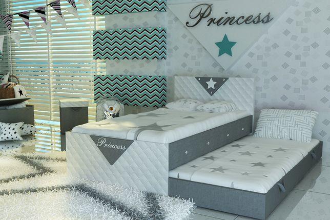 Śliczne łóżko piętrowe dla dzieci+2 materace,kryształy,DARMOWA DOSTAWA