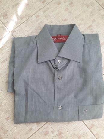 Сорочка серого цвета