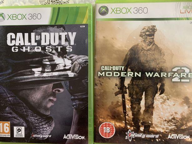Gry xbox 360 call of Duty modern warfare 2 ,Ghosts,