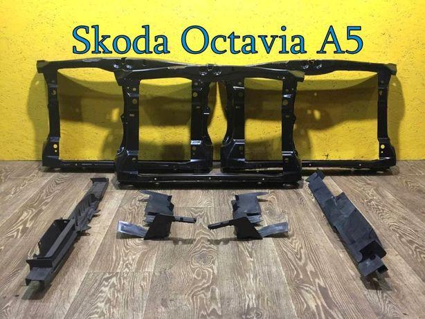 Панель передняя телевизор Новый дефлектор радиатора Шкода Октавия А5