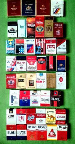 Пачки из под сигарет конца 80-×