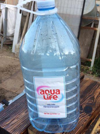 Продам бутылки Аква лайф 5 л. От. 10 шт. Постоянно.