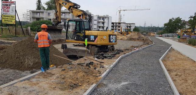 Budowa dróg, parkingów, chodników, brukarstwo