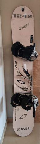 Deska snowbordowa Burton Air z wiązaniami