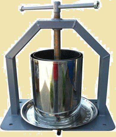 Пресс для сока Хлебпром 10и15л Соковыжималка для яблок винограда прес