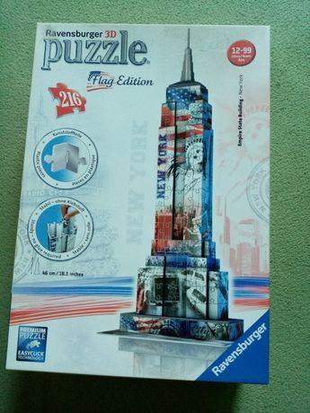 Puzzle 3D Ravensburger Flag Editon Empire State Building New York