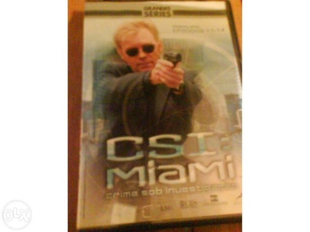 "Dvd ""CSI Miami"""