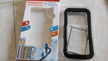 Capa para iphone 6 7 e 8 a prova de água waterproof