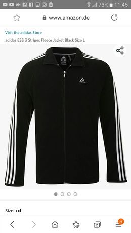 Флисовая кофта Adidas оригинал