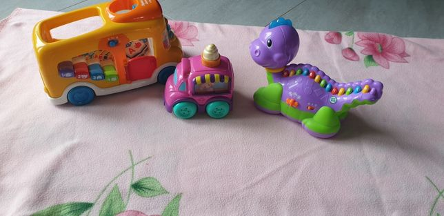 Zestaw zabawek - nauka i zabawa