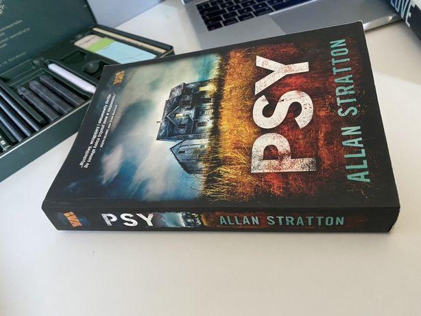"""Książka """"psy"""" Allan Stratton"""
