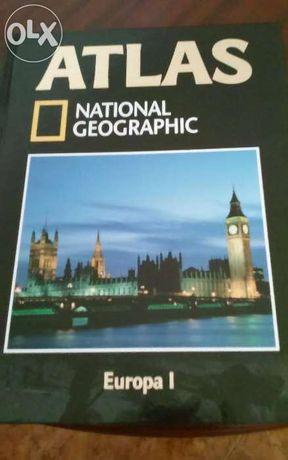 Livro Atlas National Geographic Europa I