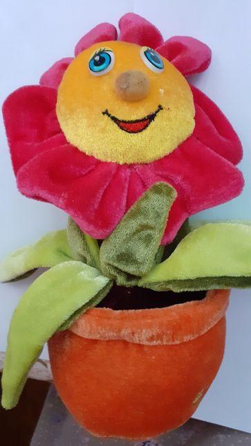 Продам игрушку говорящий цветочек
