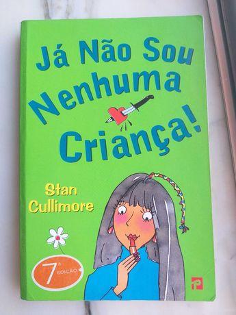 """Livro """"Já não sou nenhuma criança"""""""