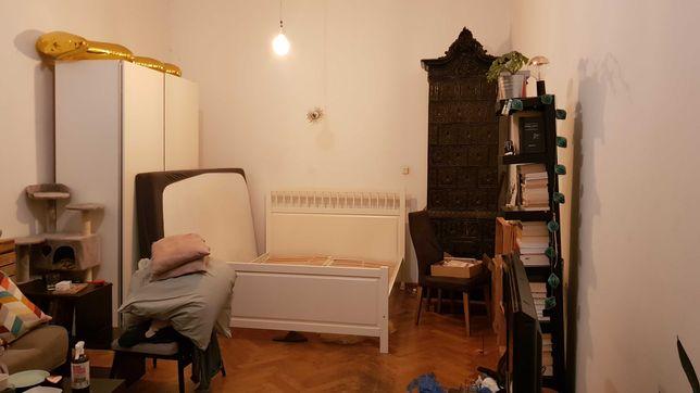 Łóżko Hemnes biały 160x200