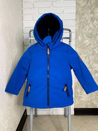 Демисезонная теплая куртка Topolino на мальчика 98 см