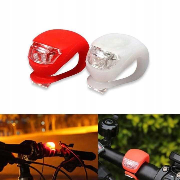 lampki rowerowe LED , przód-tył Esperanza , lombard madej sc