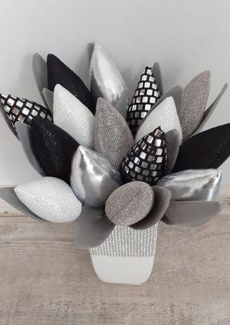 Tulipany glamour PromocjA tygodniowa błyszczące srebrne złote prezent