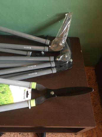 Nożyce do żywopłotu noże do trawy VERVE NOWE kątowe sekator fiskars