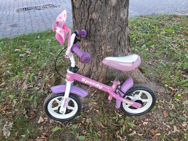 Rower biegowy dla dziewczynki