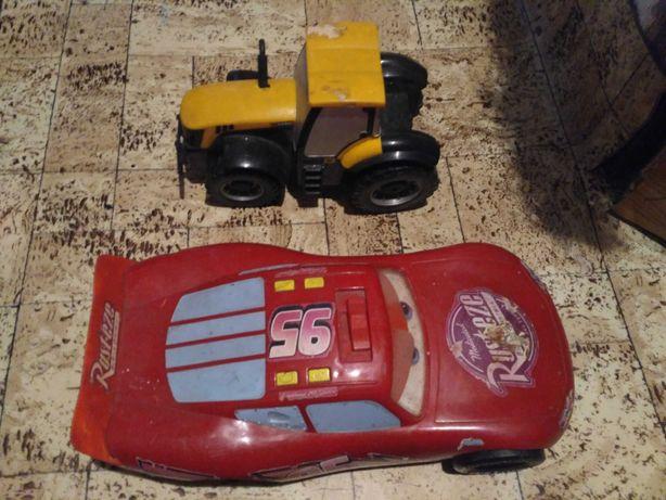Машинки, тачка макквин, трактор, игрушки на батарейках, цена за все