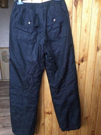 Брюки утеплённые спортивные брюки штаны на подростка зимние