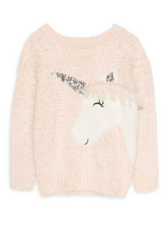 Фирменный свитер свитерок травка  с единорогом Primark як HM Zara