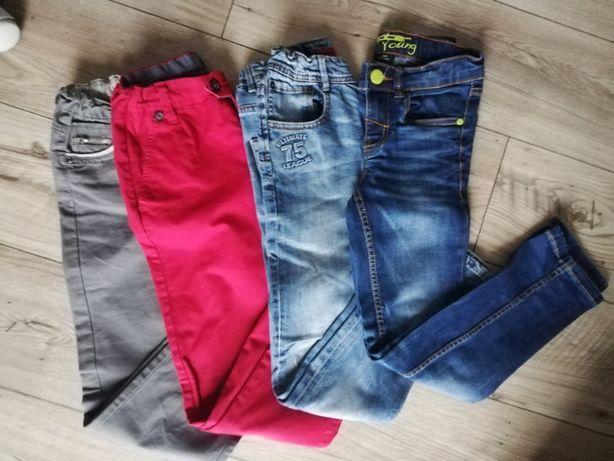 spodnie jeansy chłopięce 140 zara , reserved