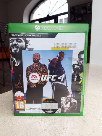 UFC 4 XBOX ONE PL wersja jak nowa LOMBARD SERWIS GSM KALISZ wybór gier