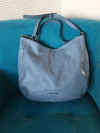 Duża torebka torba na ramię dwa paski
