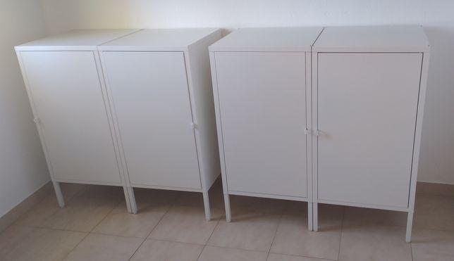 Combinado de arrumação c/porta, branco_ modulo individual