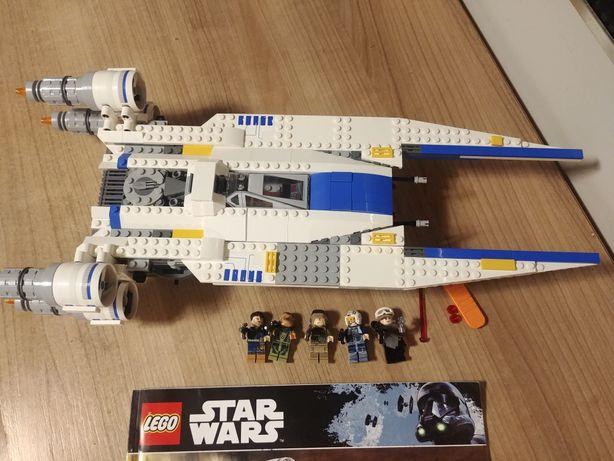 Lego Star Wars 75155 Myśliwiec rebeliantów kompletny unikat U-Wing