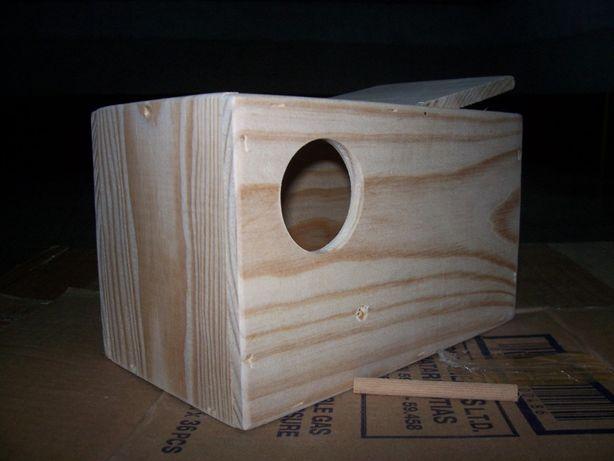 Ninhos de madeira pinho rosicollis