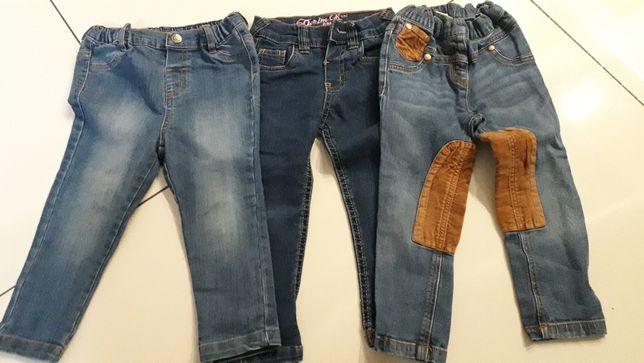 Spodnie jeansy rozmiar 98