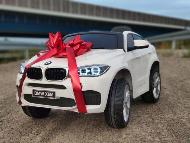 Auto na akumulator BMW X6M pakiet dla dzieci. NAJMOCNIEJSZA wersja