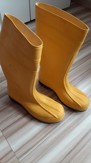 Kalosze gumowce budowlane S4 S5 żółte