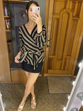 Блузка Zara с запахом