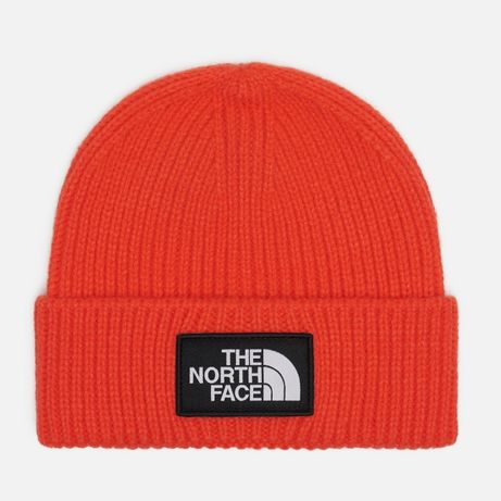 Оригинальная шапка The North Face Logo Box Flare Orange(NF0A3FJXR151)