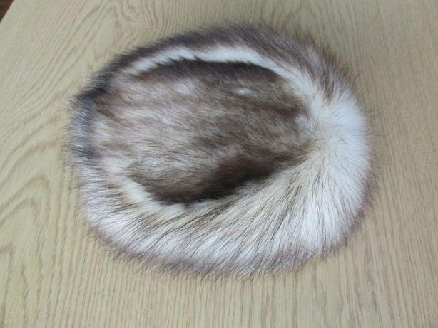 czapka toczek reteo z futra