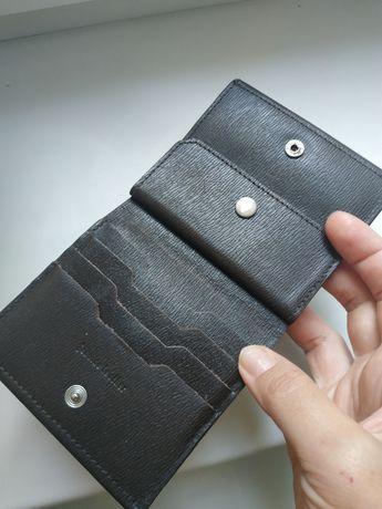 Мужской кожаный кошелек ручная работа Новый