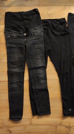 Spodnie ciążowe H&M 38 -2 szt