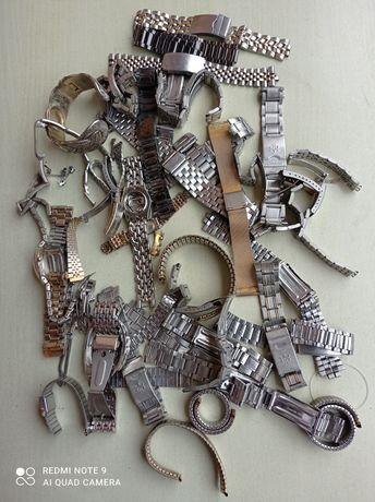 Graty ze starej chaty_stare zegarki _ części, mega zestaw - 40 sztuk