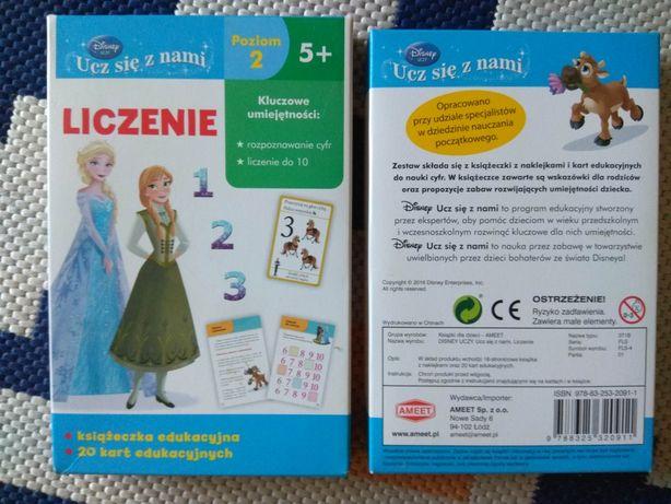Frozen zestaw edukacyjny - nauka liczenia poziom 2