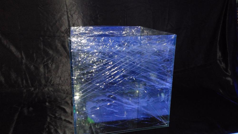 Aquario cubo 60x60x60 em vidro 10mm novo