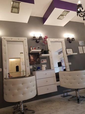 Wynajem gabinetu, podnajem 2 stanowisk fryzjerskich w salonie w Katowi