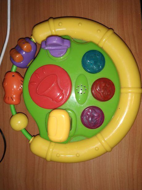Музыкальный руль игрушка
