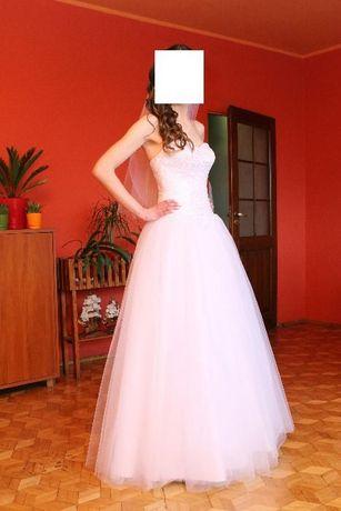 Suknia ślubna Daphne A-327 jak nowa rozmiar 34-36