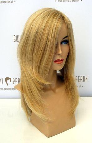 Peruka długa z włosa naturalnego Pińczów