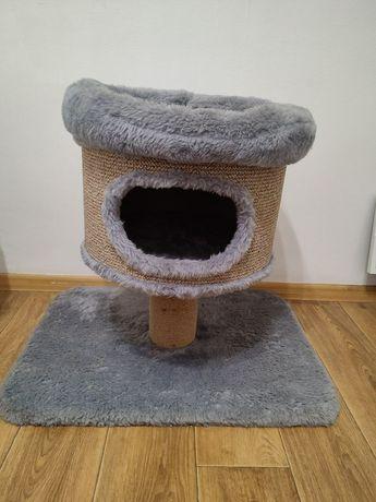 Дом для кота с когтеточкой