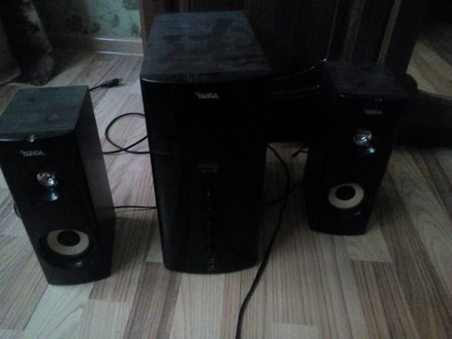 Компьютерная акустика система 2.1(продажа, обмен)